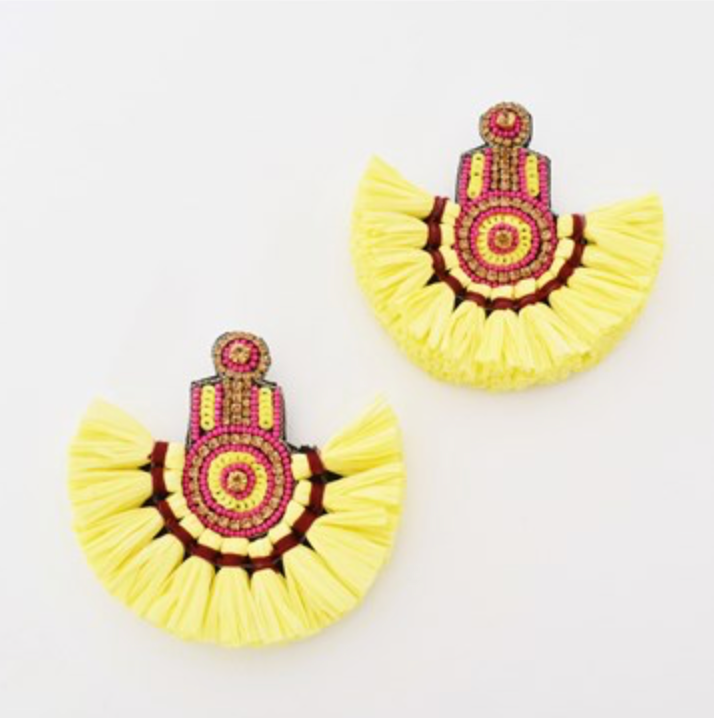 Roma Fringe Earrings