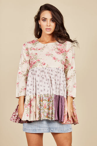Peony Long Sleeve Top
