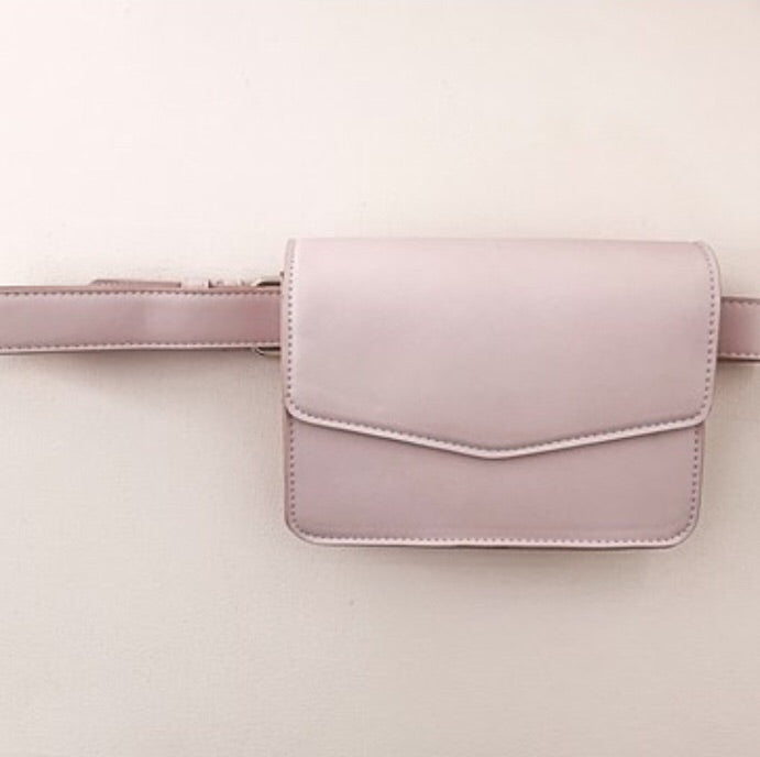 Flap Over Slim Belt Bag
