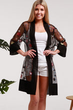 Load image into Gallery viewer, Gorgeous Black Duster STYLE A