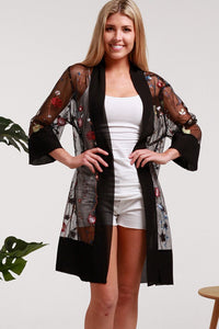 Gorgeous Black Duster STYLE A