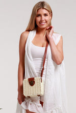 Load image into Gallery viewer, Boho Straw Bag