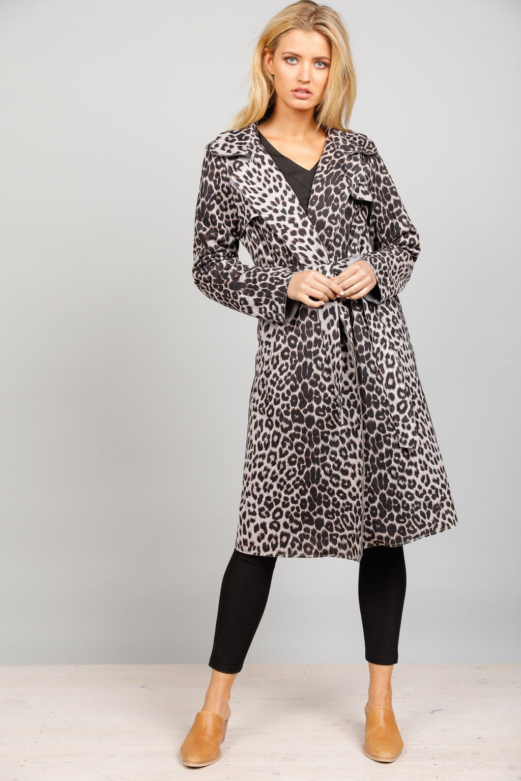 Safari Trench - Leopard