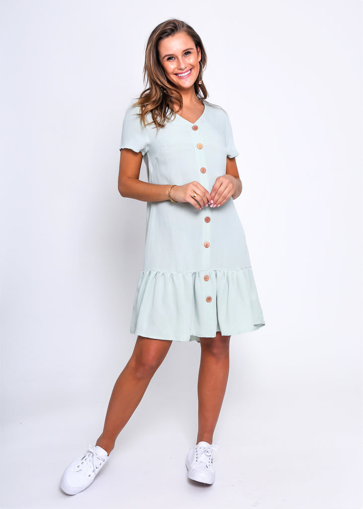 Sylvie - Button Down Linen Dress