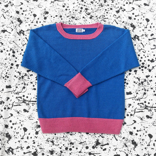 Bubble Gum Crew Neck Jumper