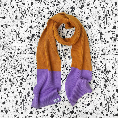Violet Crumble Scarf