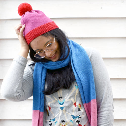 Adult Scarf & Beanie Combo