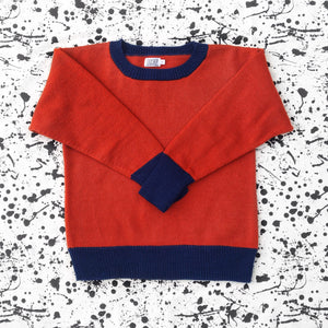 Chestnut Crew Neck Jumper