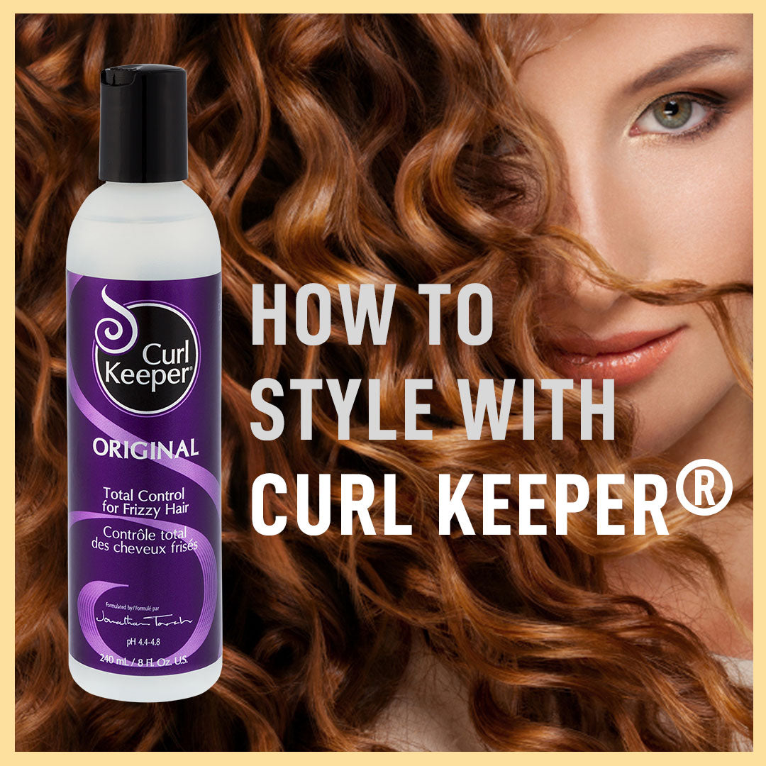 How To Use Curl Keeper® Original