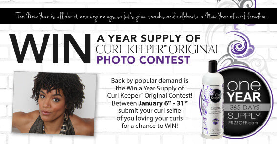 Win A Year Supply of Curl Keeper Original Contest