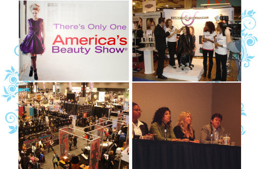 Texture Curls at American Beauty Show in Chicago