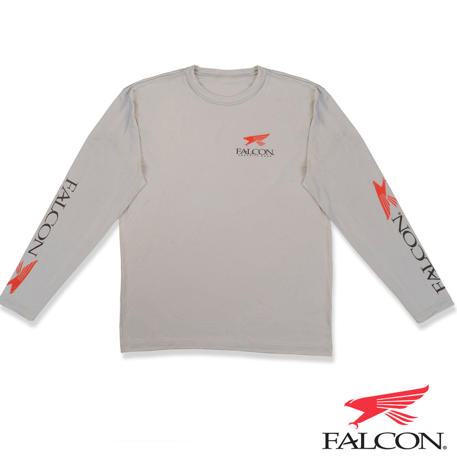 Quick-Dry Long Sleeve Shirt Gray