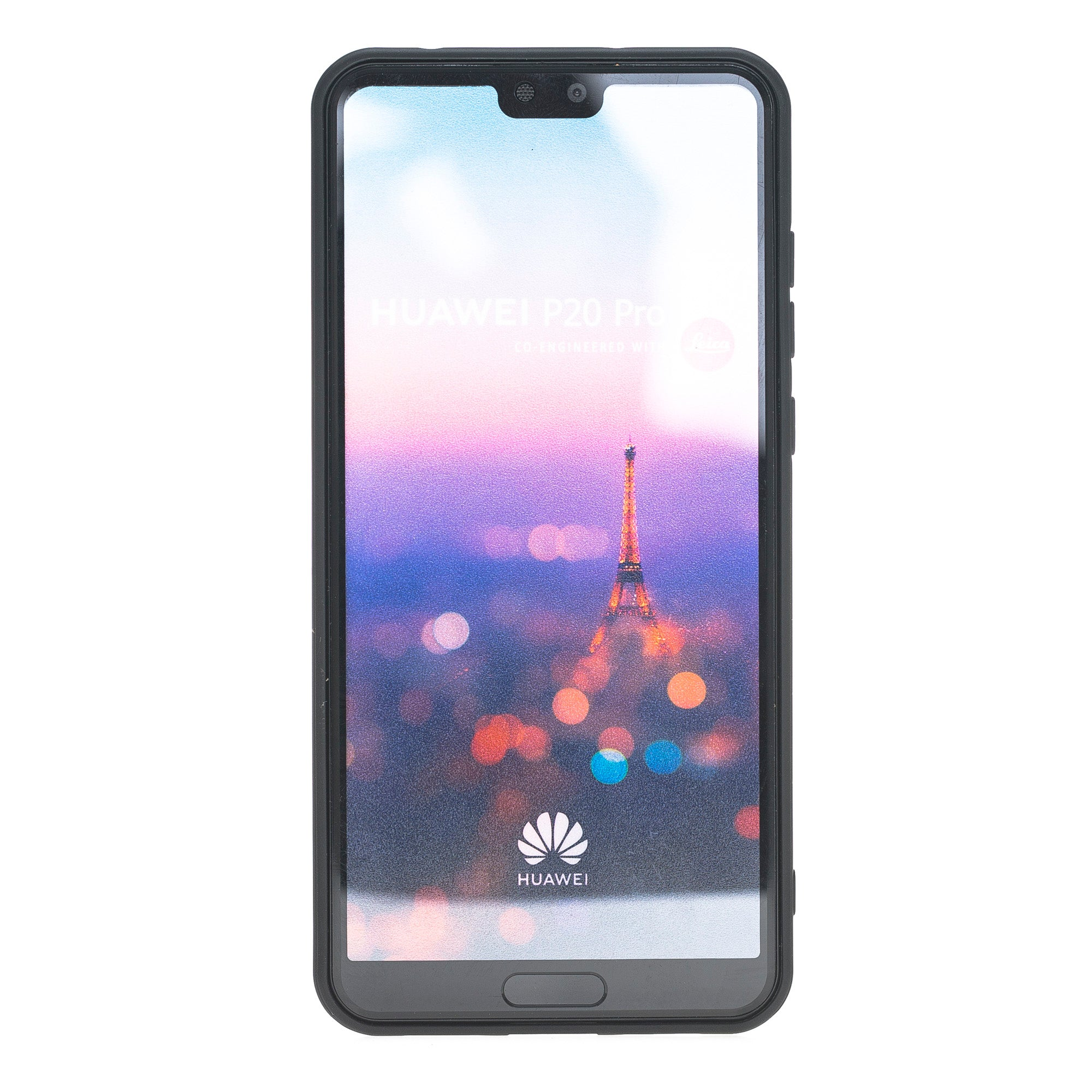wholesale dealer 49efd e75d6 Huawei P20 Pro Tan Color Genuine Full Cover Leather Compatible With ...