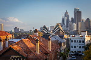 Sunset on Sydney's Roofs