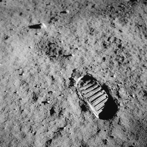 Footprint - Apollo 11