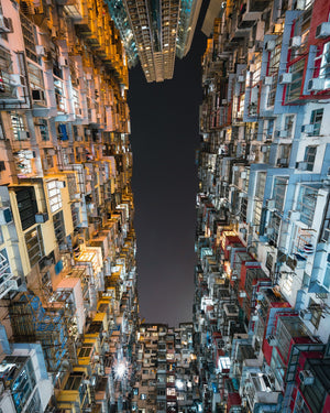 Looking up in Hong-Kong