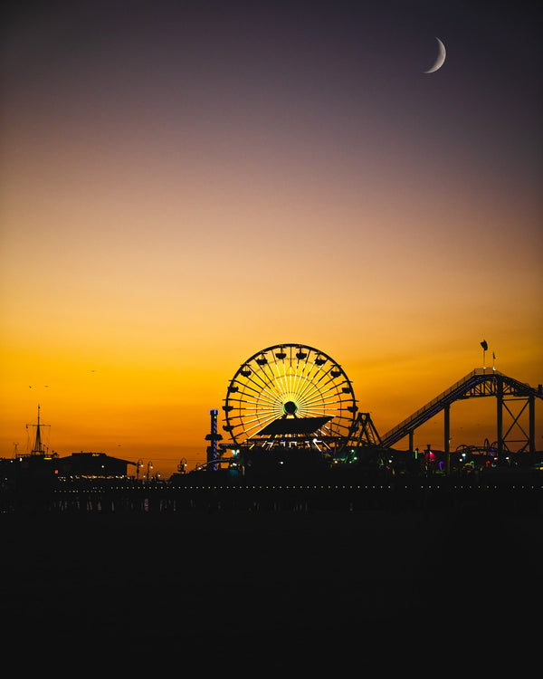 The Santa Monica Sunset