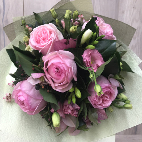 Soft Pretty Pink Posy