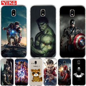 Marvel Avengers Case For Samsung Galaxy J Series