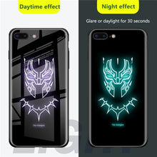 Load image into Gallery viewer, Marvel Luminous Tempered Glass Cases For IPhone And Samsung