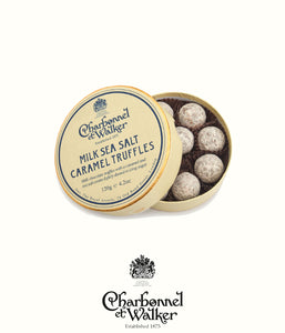 Charbonnel et Walker milk sea salt caramel truffles 120gr