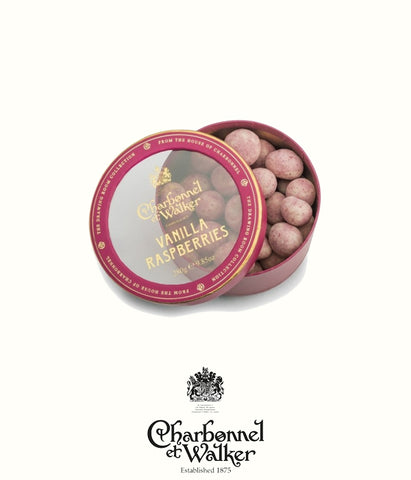 Charbonnel et Walker vanilla raspberries 280gr