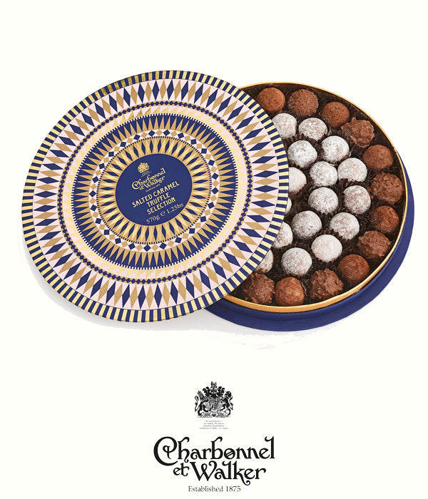 Charbonnel et Walker salted caramel chocolate truffle box 570gr