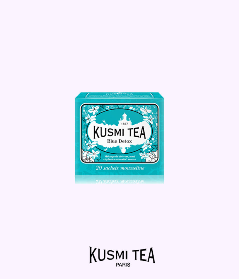 KUSMI TEA blue detox teabags