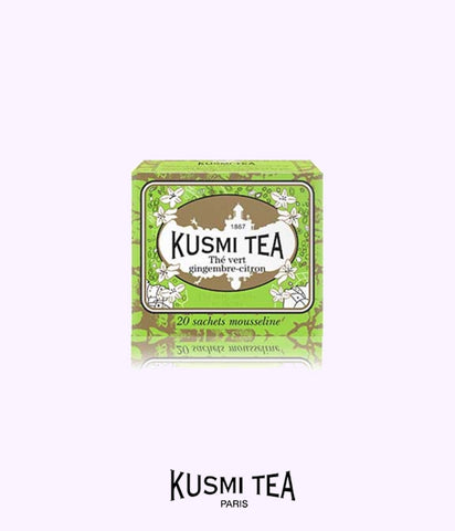 KUSMI TEA ginger-lemon