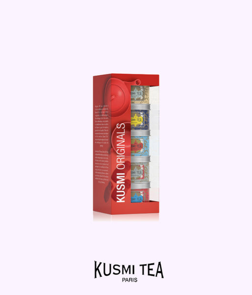 KUSMI TEA set of 5 assorted teas
