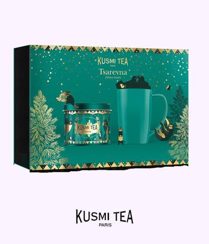 KUSMI TEA tsarevna special edition pack (organic tea)