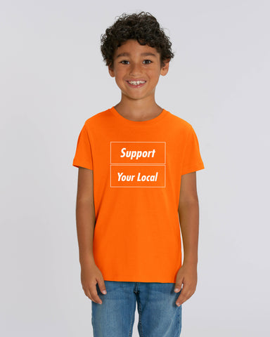 SUPPORT YOUR LOCAL kids t-shirt