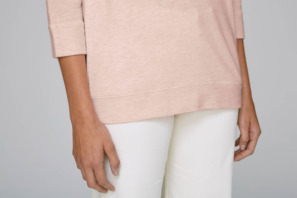 SUPPORT YOUR LOCAL womens summer sweatshirt 3/4sleeves