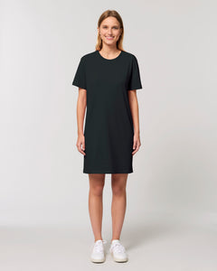 "SUPPORT YOUR LOCAL ""no logo"" womens t-shirt dress"