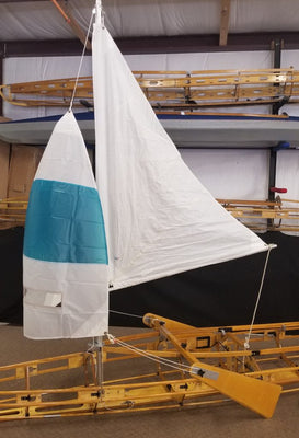 S-1 Main & Spinnaker Sail Kit with Long Haul Lee Boards