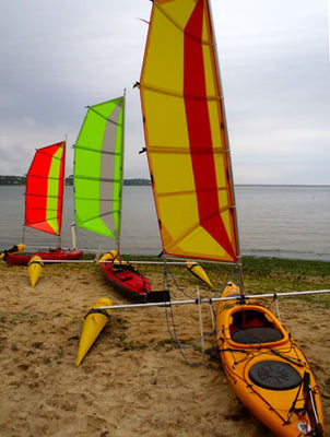 Sailing Folding Kayak