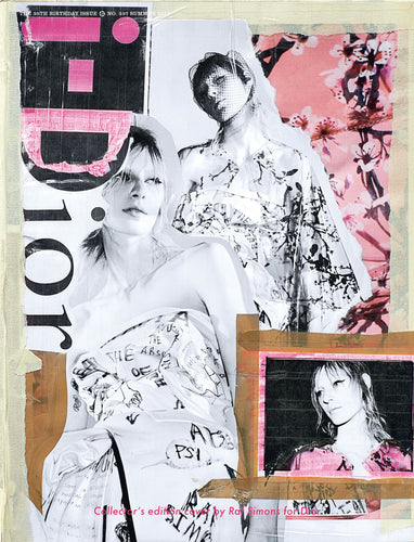 337. RAF SIMONS FOR DIOR COLLECTOR'S EDITION COVER WRAP
