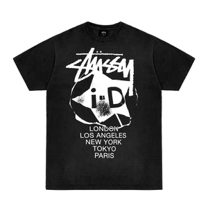 i-D x Stüssy International T-shirt