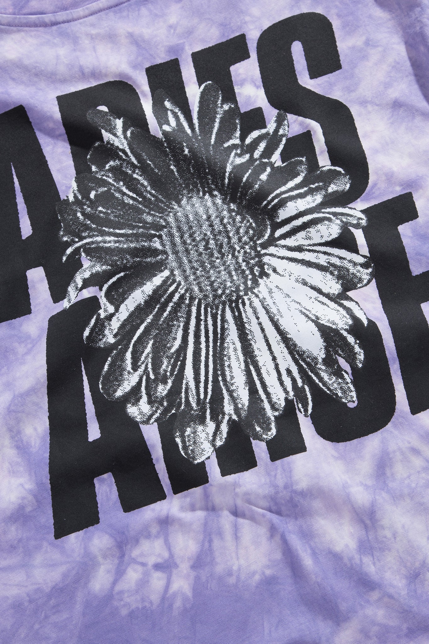 i-D x Aries Arise Flower Tie Dye T-shirt