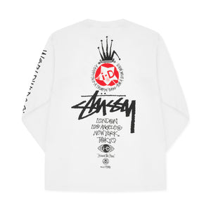 i-D x Stüssy Heritage Long Sleeve Top