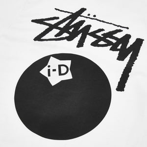 i-D x Stüssy 8 Ball T-shirt
