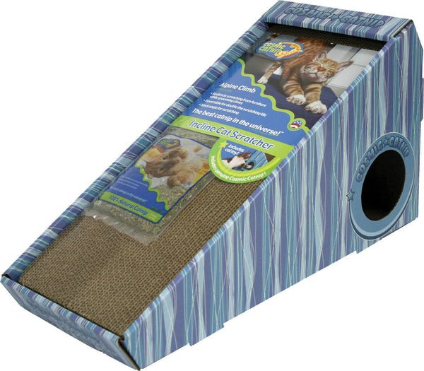 Cosmic Catnip Alpine Climb Inclined Cat Scratcher - Wagging Online