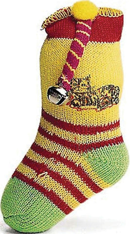 Neon Sock With Bell & Catnip - Wagging Online