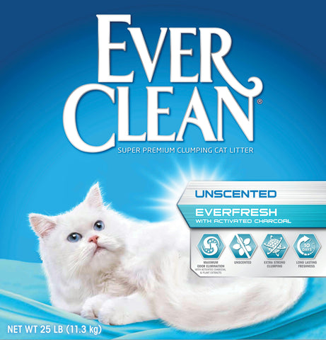 Ever Clean Everfresh Activated Charcoal Litter - Wagging Online