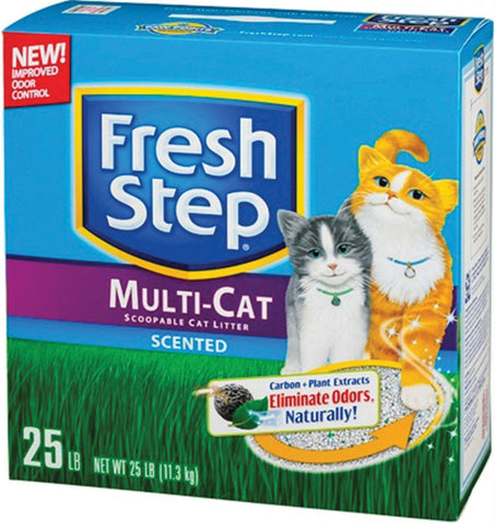 Fresh Step Multi-cat Clumping Litter - Wagging Online