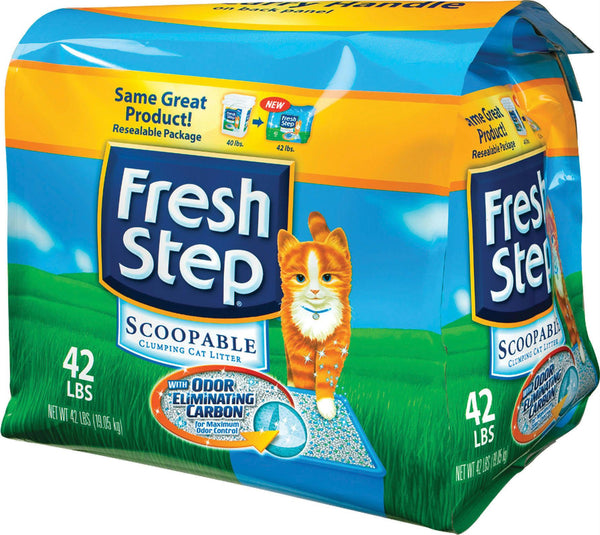 Fresh Step Odor Shield Clumping Litter - Wagging Online
