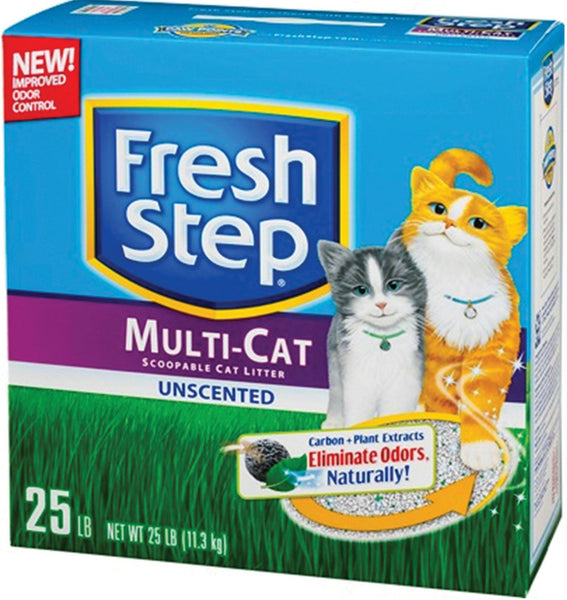 Fresh Step Multi-cat Unscented Litter - Wagging Online