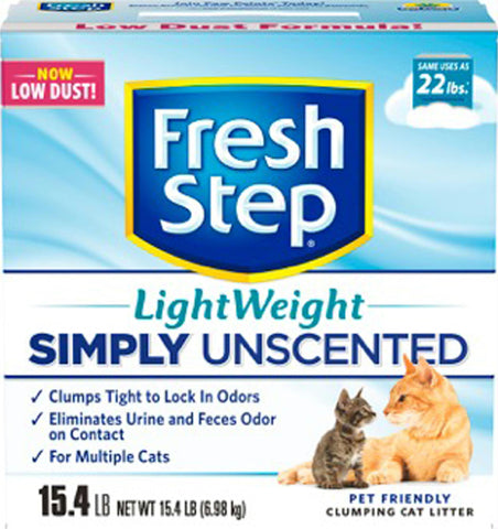 Fresh Step Ultra Unscented Lightweight Litter - Wagging Online