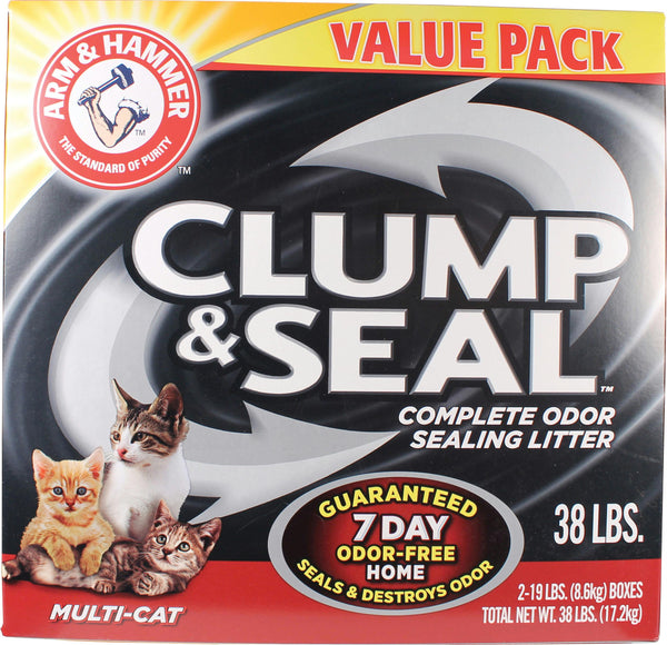 Arm & Hammer Clump & Seal Multi-cat Litter - Wagging Online