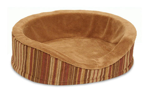 Antimicrobial Deluxe Oval Bed - Wagging Online